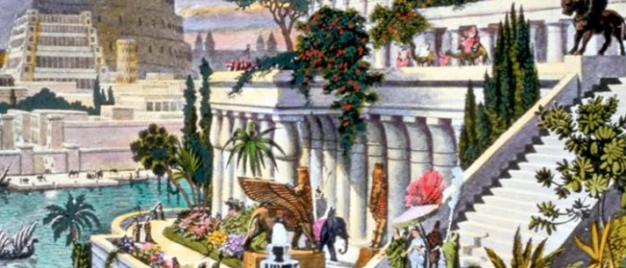 Hanging_Gardens_of_Babylon_via Wikimedia Commons